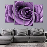 2018 Latest Roses Canvas Wall Art
