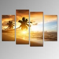 The Best Beach Canvas Wall Art