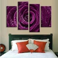 2019 Best of Purple Flowers Canvas Wall Art