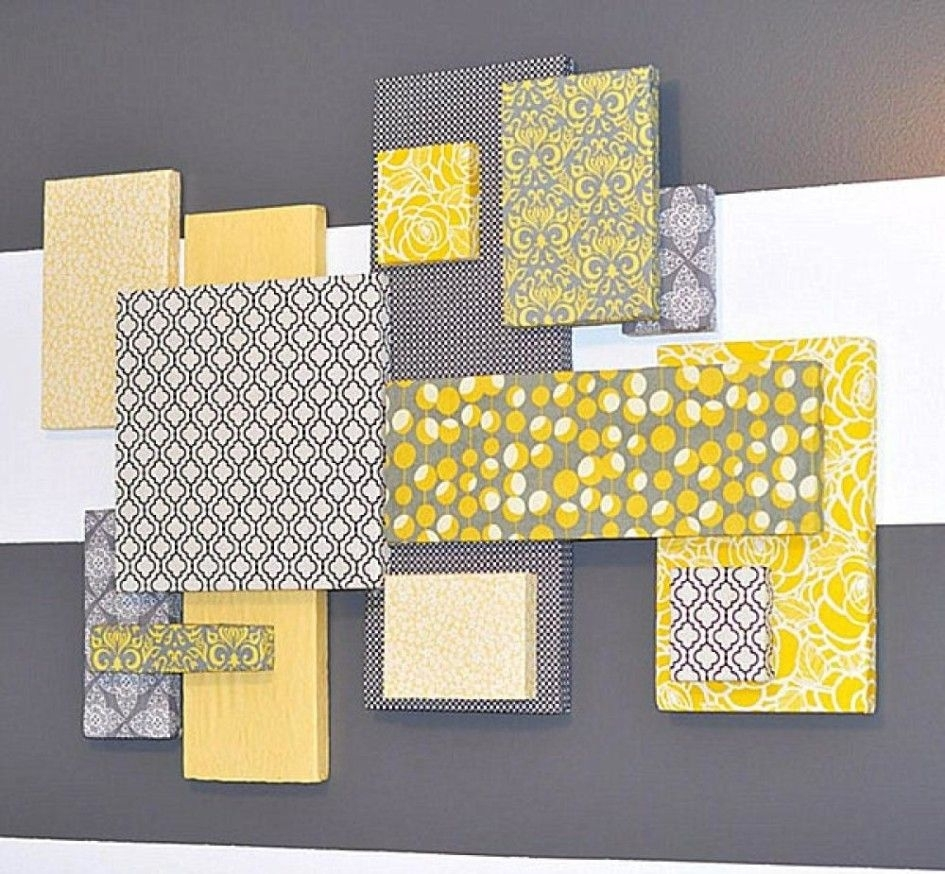 Unique Fabric Wall Art Ideas On Pinterest Styrofoam Wall Art ...