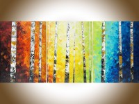 15 Best Collection of Birch Trees Canvas Wall Art