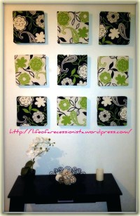 15 Best Collection of Diy Framed Fabric Wall Art