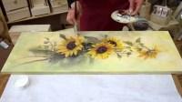 The Best Fabric Decoupage Wall Art