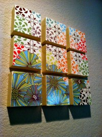 15 Best Collection of Mod Podge Fabric Wall Art