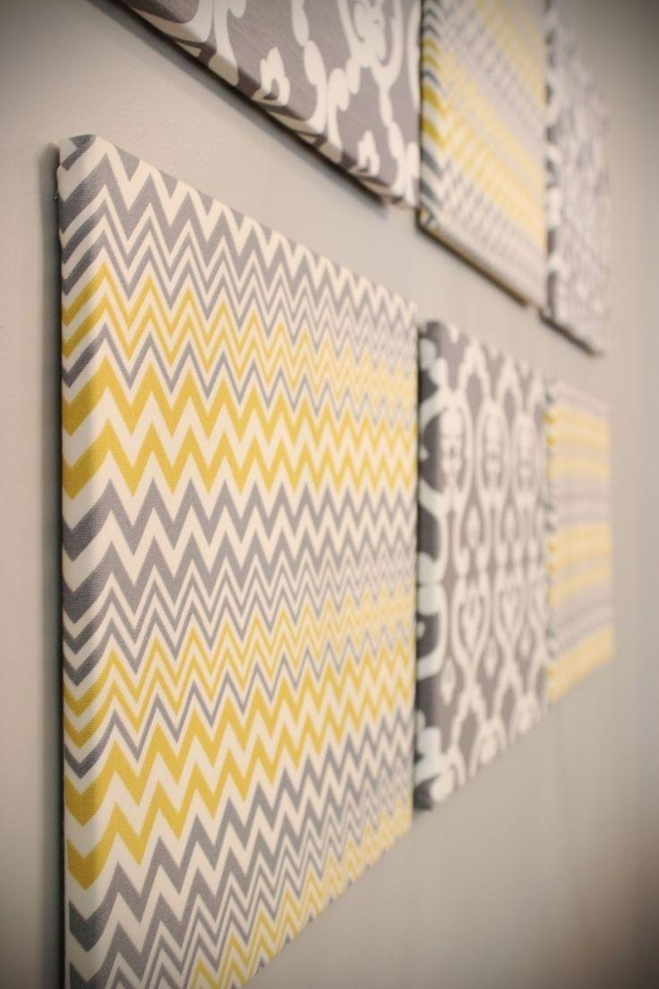 Stretch Fabric Over Frame Wall Art Home Interior Decorating Ideas ...