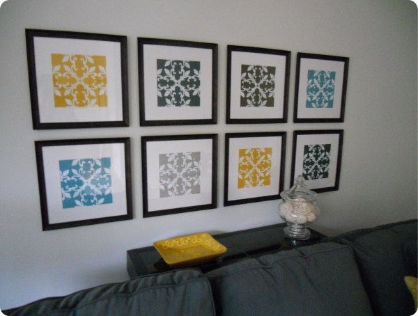 Inspirations Of Fabric Wall Art Frames