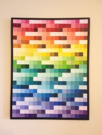 Delighted Paint Swatch Wall Art Pictures Inspiration