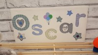 2018 Latest Fabric Name Wall Art