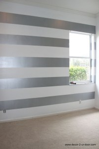 15 Inspirations of Horizontal Stripes Wall Accents