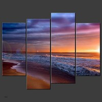 15 Best Collection of Canvas Wall Art Beach Scenes