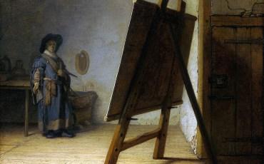 Рембрандт Харменс ван Рейн. «Художник в мастерской»