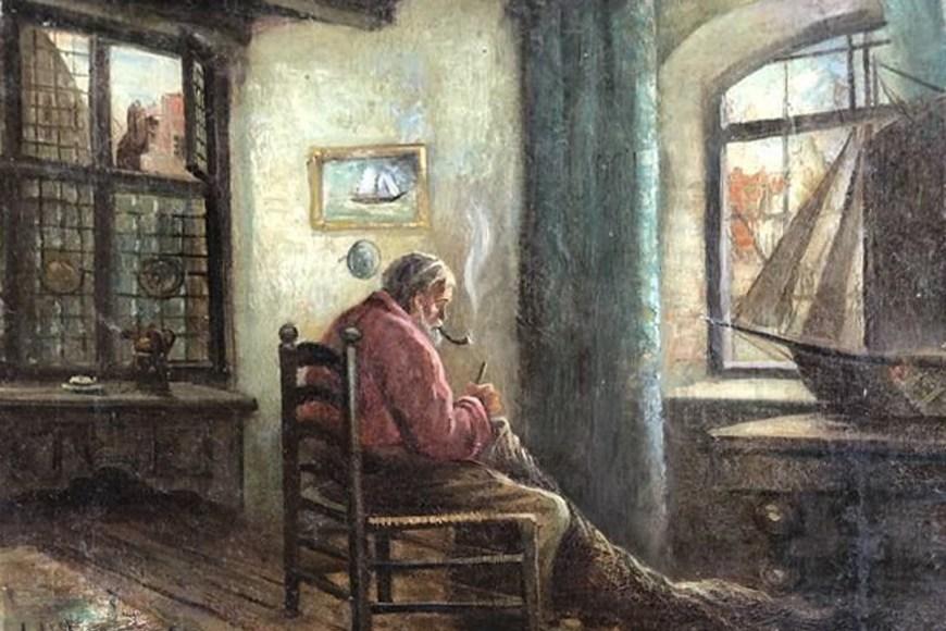Петербуржец продаёт картину кисти Адольфа Гитлера