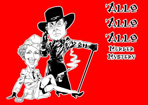 Allo Allo Parody cartoon caricature