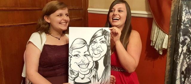 Wedding entertainment Caricatures