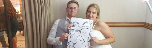 Caricature Wedding Entertainment in Coventry