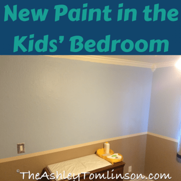 New Paint in the Kids' Bedrooms