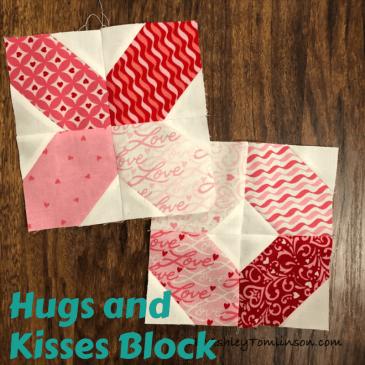 Hugs and Kisses Block