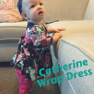 Catherine Wrap Dress