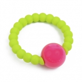 Chewbeads Mercer Chartreuse Rattle