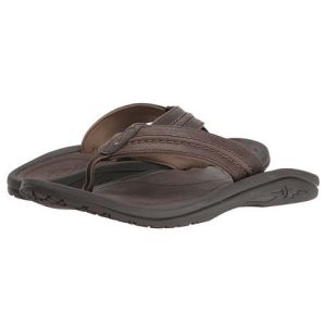 olukai-hokua-leather-dark-wood