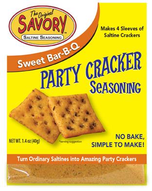 Savory Sweet Bar-B-Q Party Cracker Seasoning