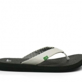 Sanuk Yoga Mat White Women's Sandals
