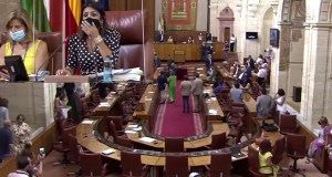 rats entered the Spanish parliament