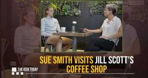 Sue Smith visits Jill Scott's coffee shop