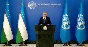 Uzbekistan President Addresses General Debate, 76th Session