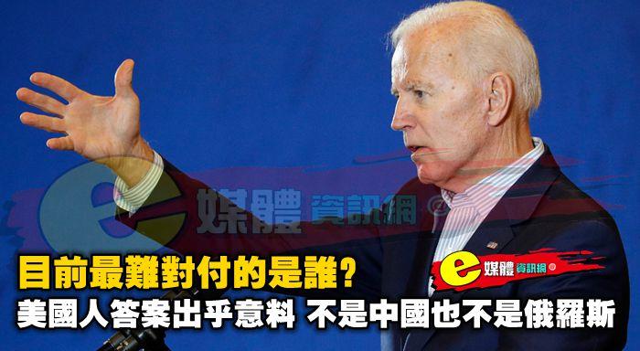 目前最難對付的是誰?美國人答案出乎意料,不是中國也不是俄羅斯