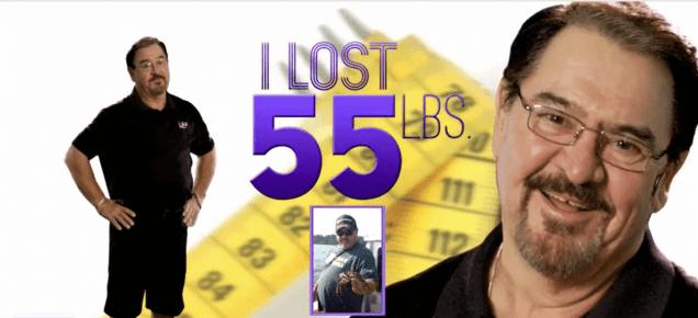 I lost 55 lbs