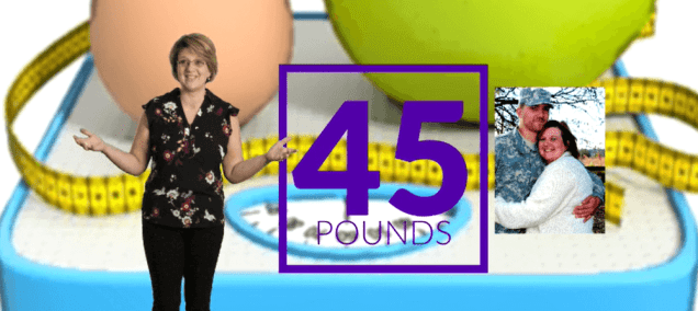 I lost 45 lbs