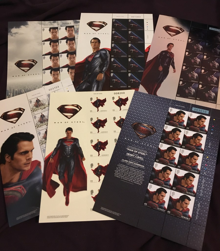 Man of Steel Stamp Collection - Jersey