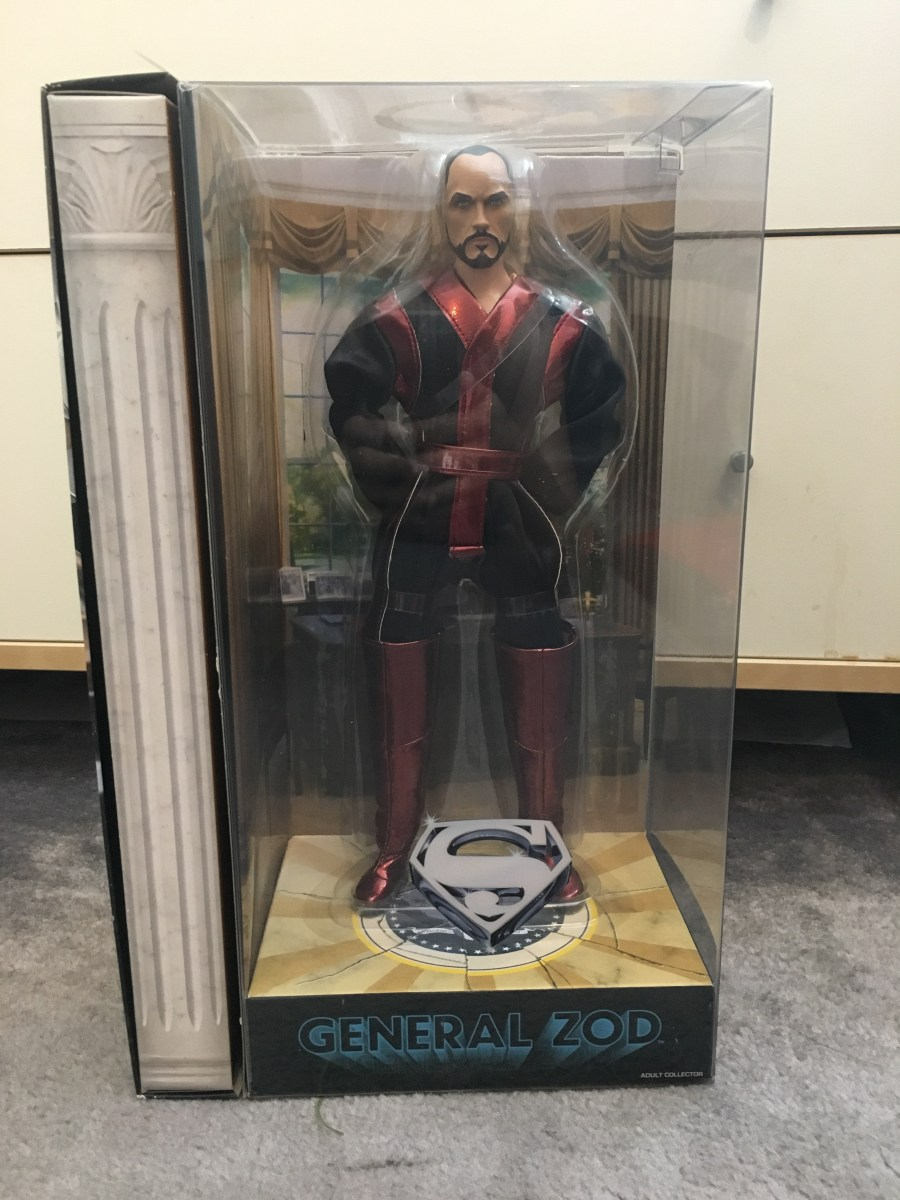 General Zod Figurine