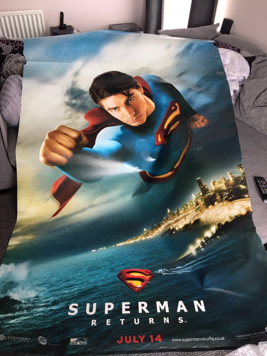 Superman Returns Cinema Poster