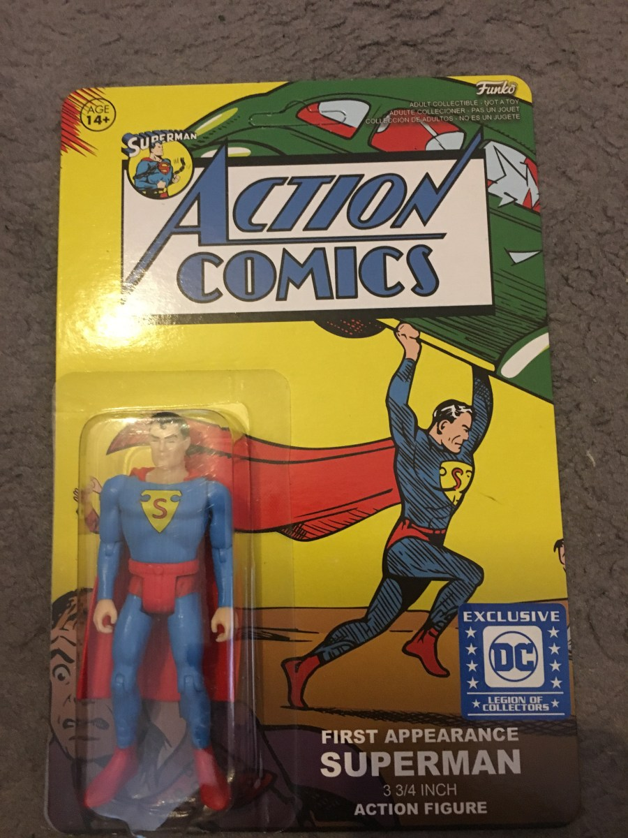 Legion of Collectors Action Comics Action Figure
