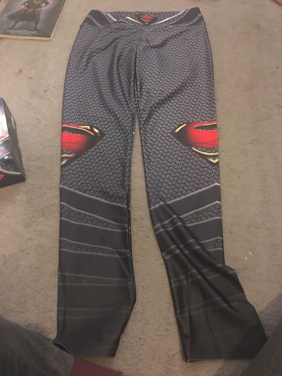 Superman Gym Leggings