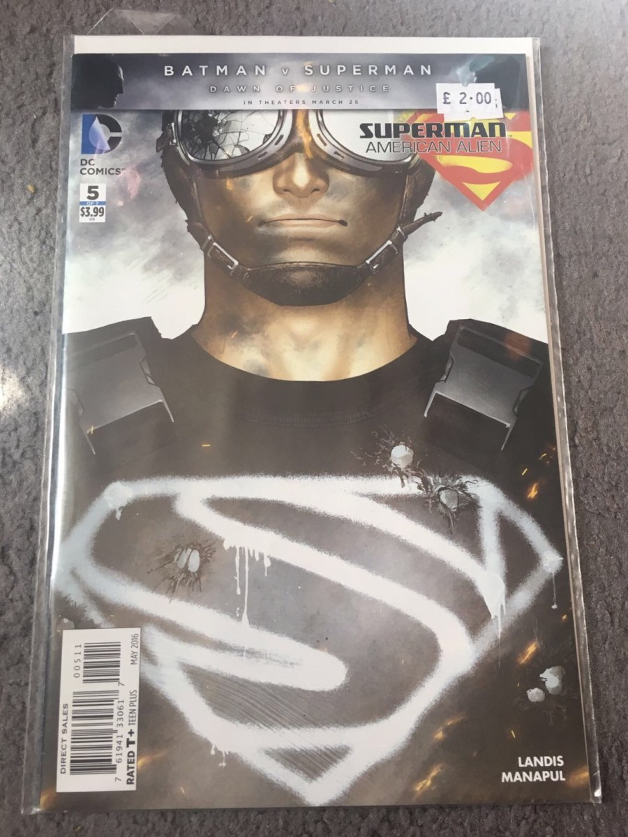 Superman: American Alien Comic - Issue 5