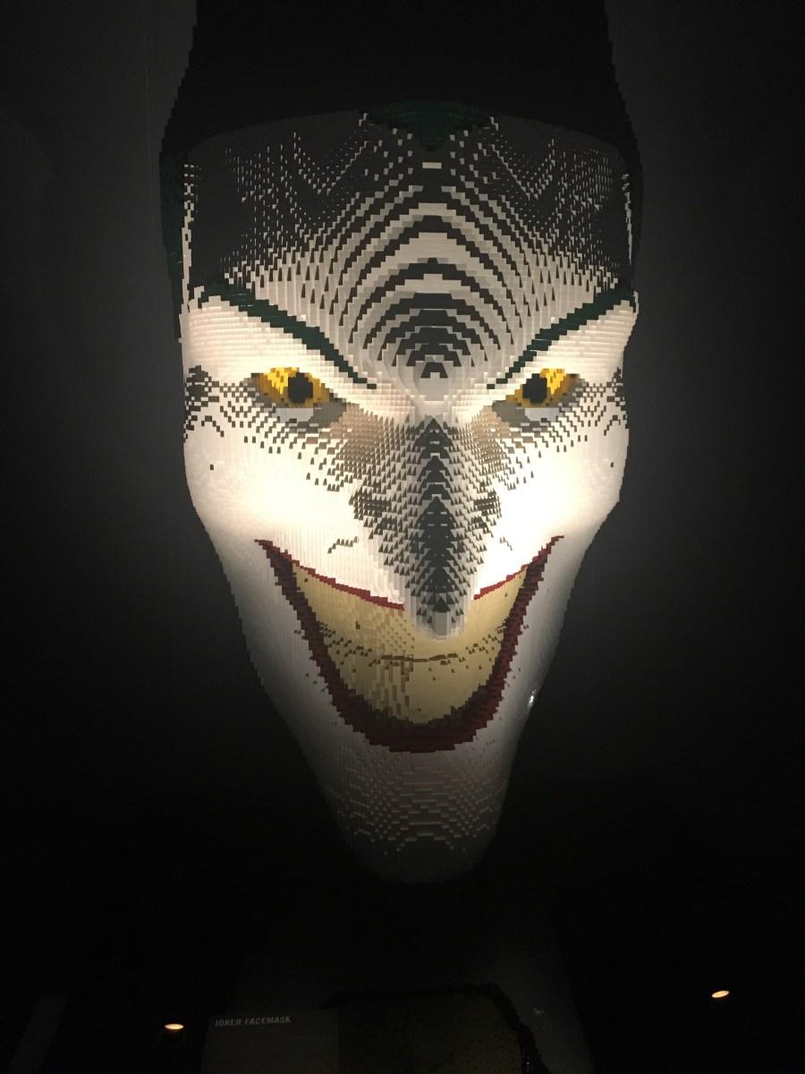 Classic JokerLego Sculpture