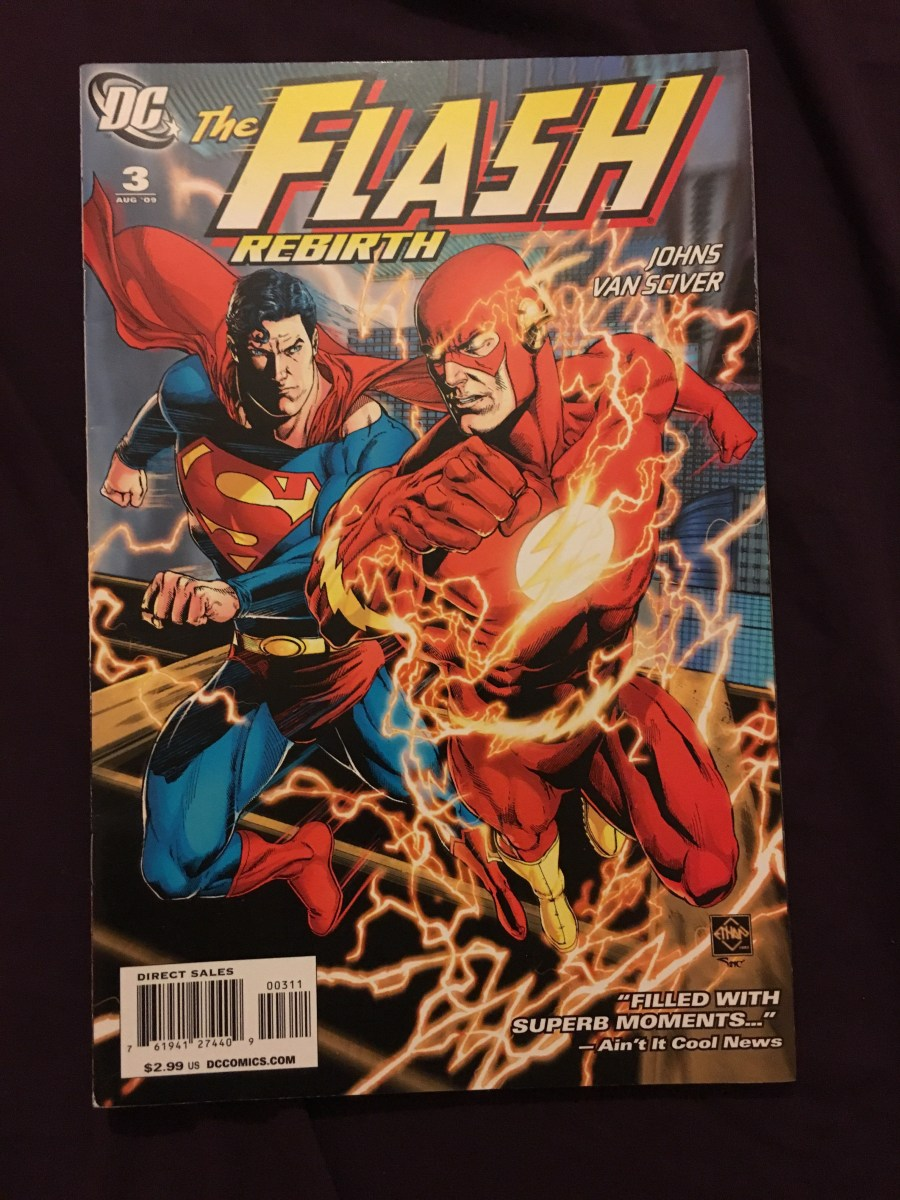 The Flash Rebirth Comic- Issue 3