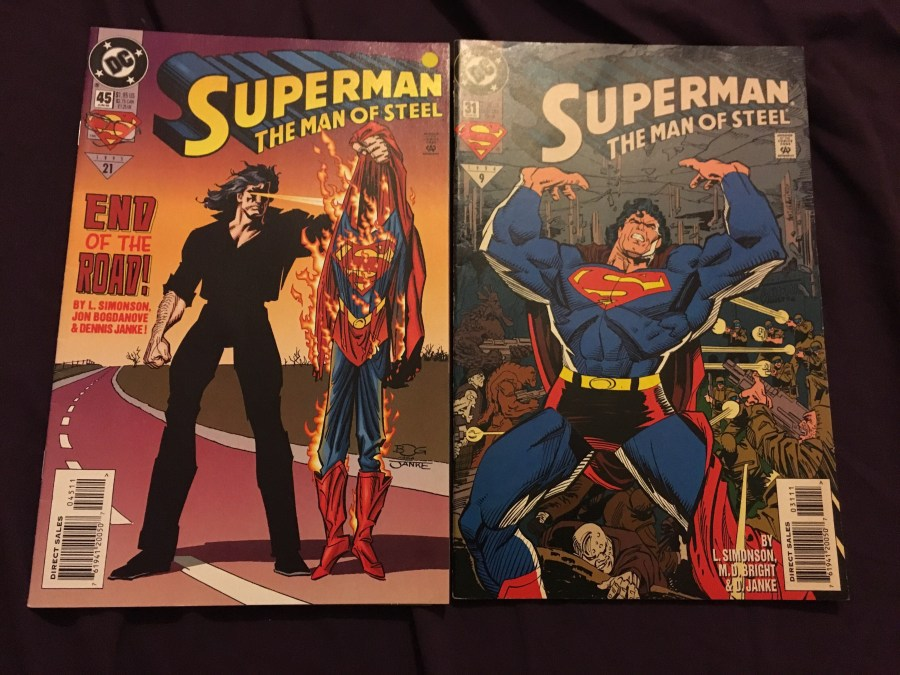 Superman: The Man of Steel - Issue 31 and 45