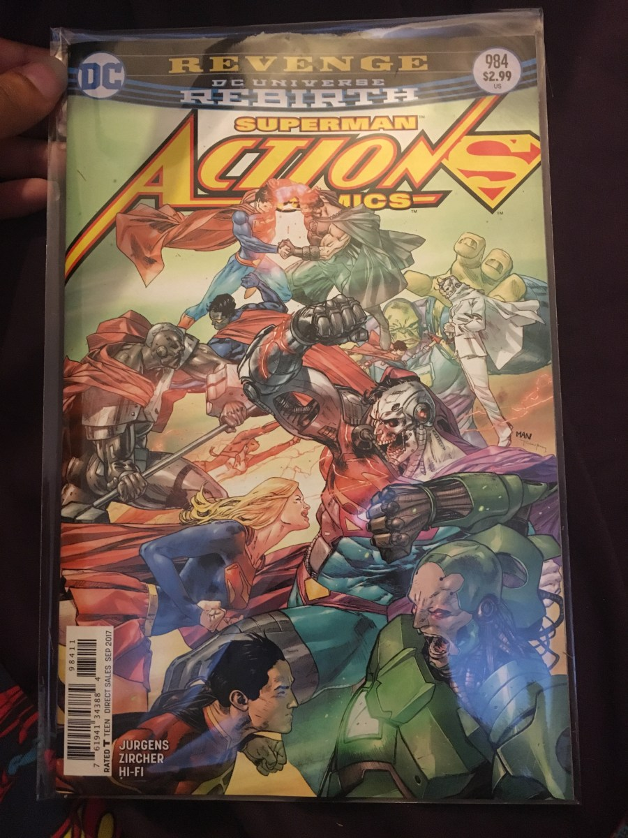 Action Comics - Issue 984