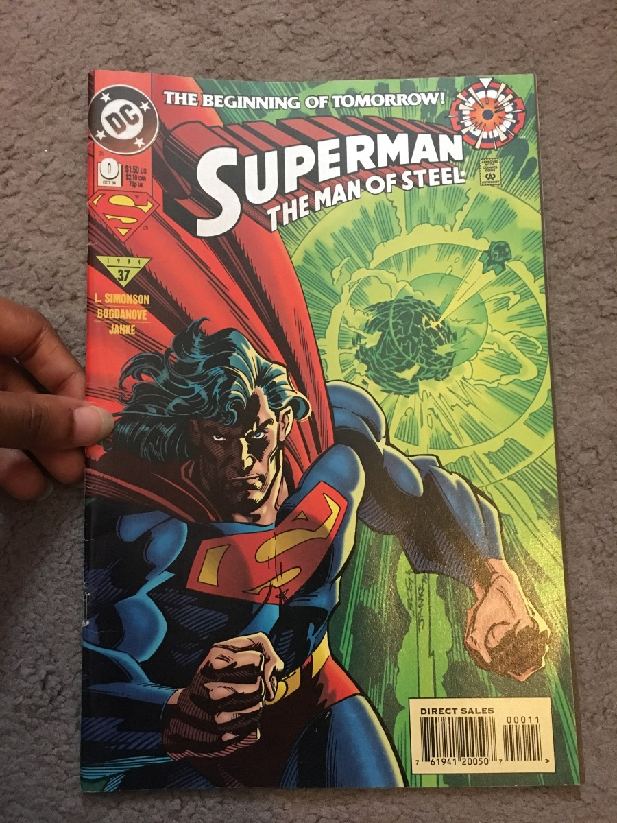 Superman: The Man of Steel Comic - Issue 0