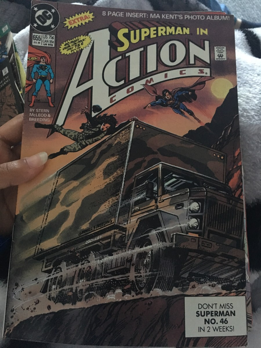 Action Comics, Vol 1 -  Issue 655