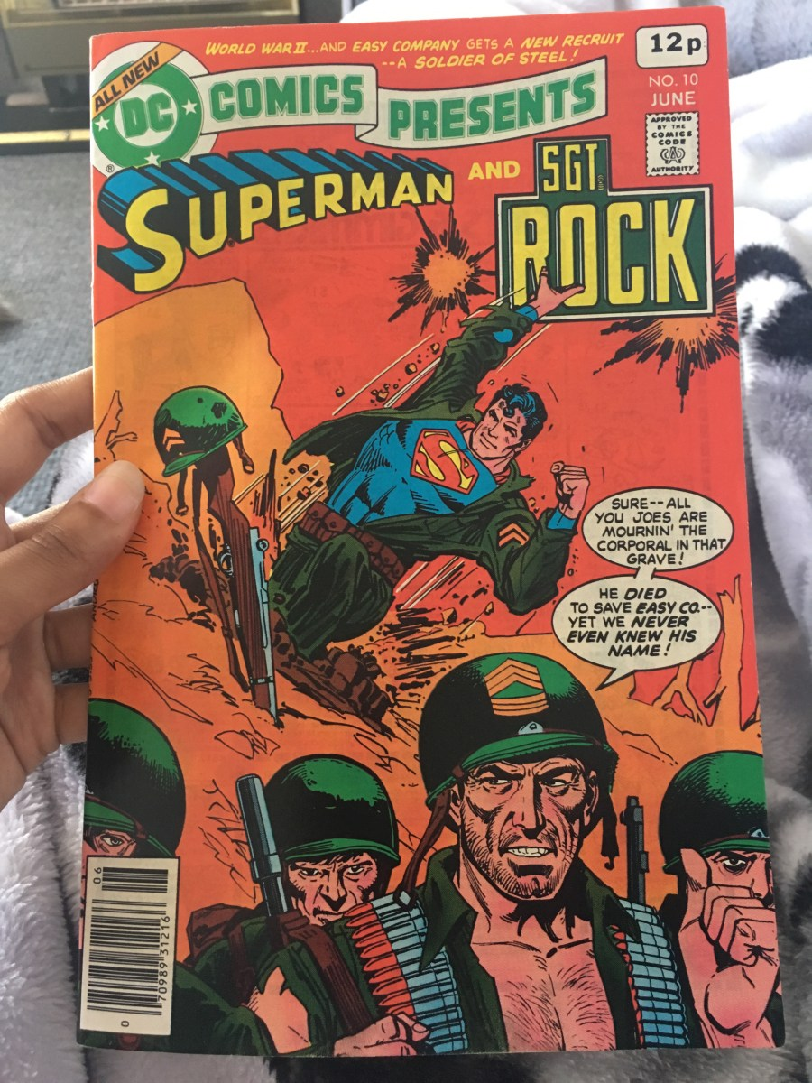 DC Comics Presents: Superman and Sgt Rock - Issue 10