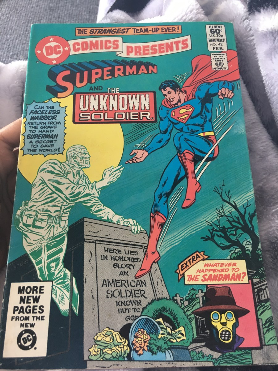 DC Comics Presents: Superman & The Unknown Solider - Issue 42