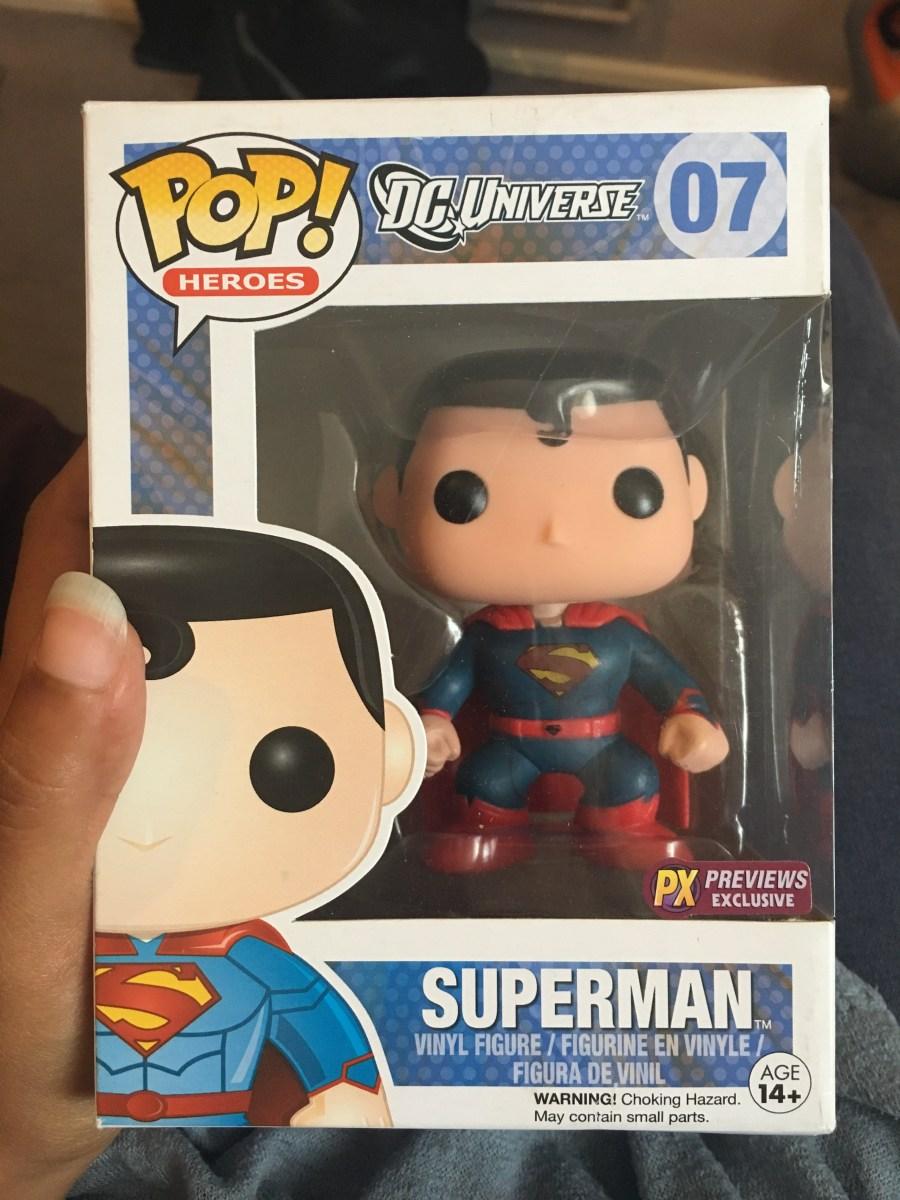 Superman Funko Pop - New 52 Suit PX Previews Exclusive