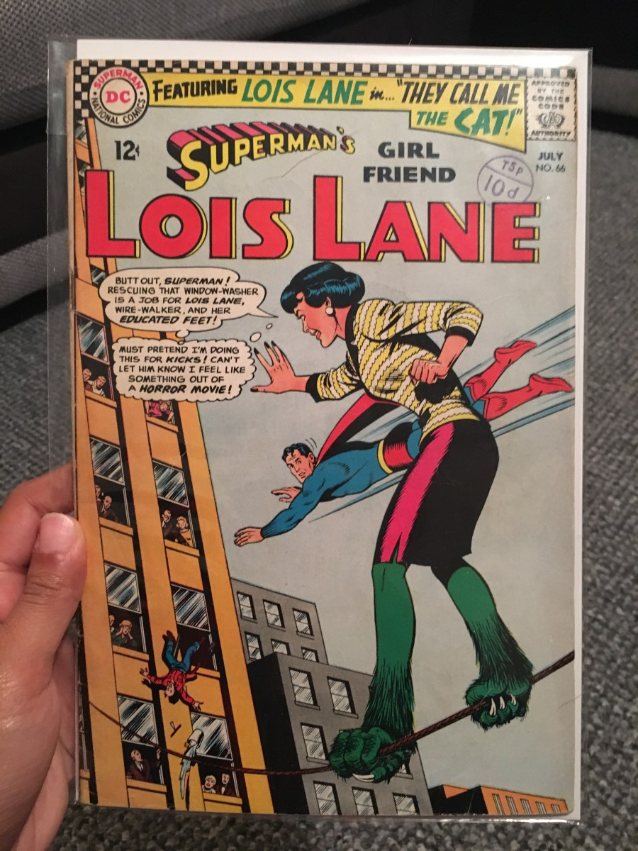 Superman's Girlfriend, Lois Lane – Issue 66.