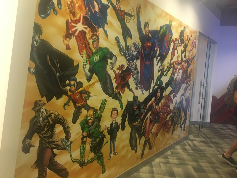DC Comics Office - Artwork