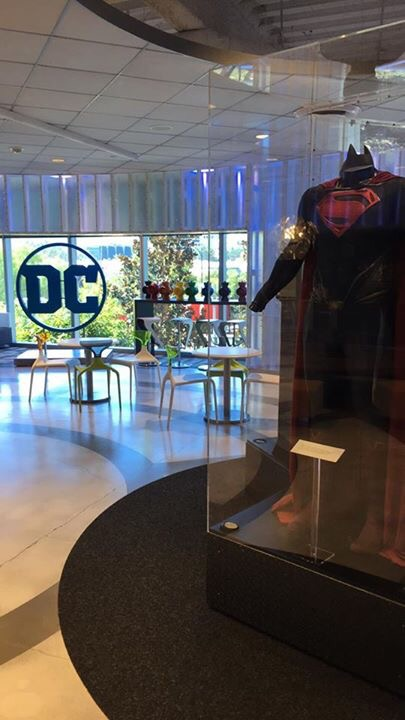 Entrance to DC Comics Office